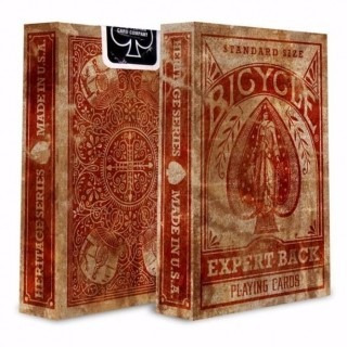 baraja cartas bicycle expert back
