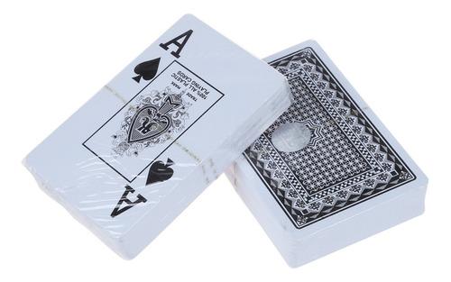 baraja cartas juego poker royal plastificadas lavable