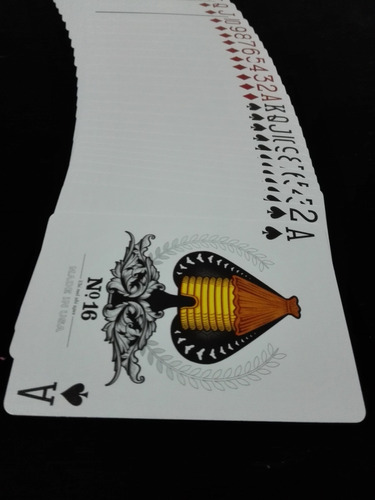 baraja de cartas black honeybee - poker magia cardistry bee