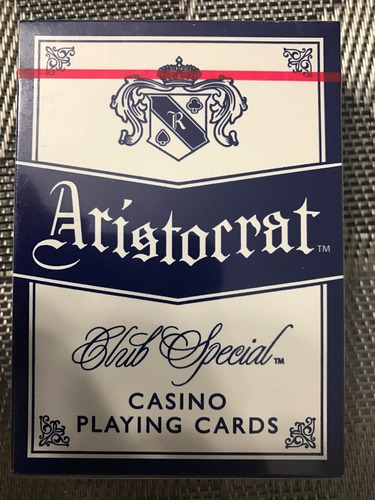 baraja de poker de casino plastica remate