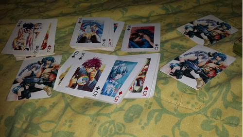 baraja de poker full metal panic!