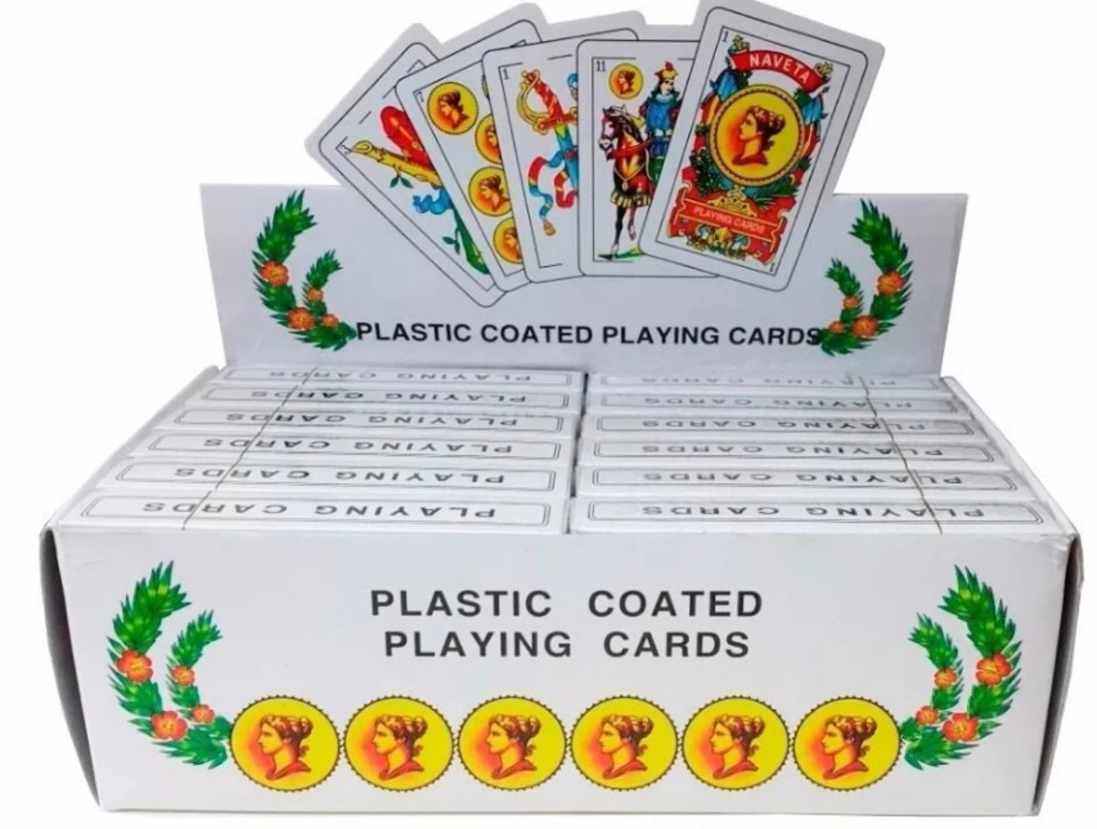 Baraja Espanola Caja Con 12 Juegos De Cartas 99 00 En Mercado Libre