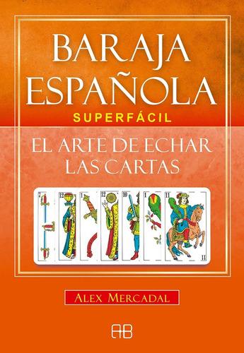 baraja española, superfácil, cartas y libro
