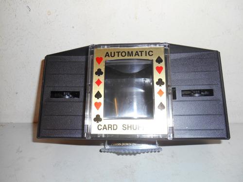 barajador de cartas automatico
