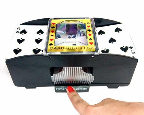 barajador mezclador de cartas automático