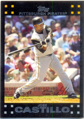 barajita jose castillo pirates topps 2007 # 52