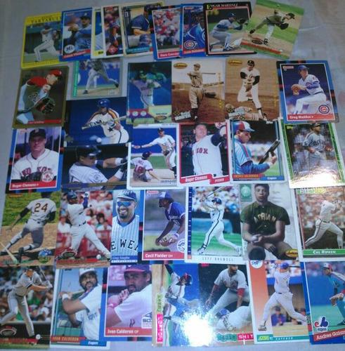 barajitas beisbol mlb de 1988-1994