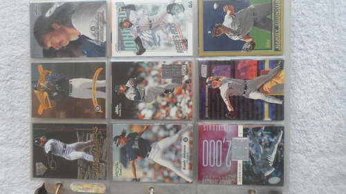 barajitas beisbol (randy johnson) 300 tarjetas