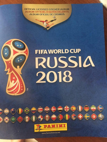 barajitas detalladas del mundial rusia 2018 panini