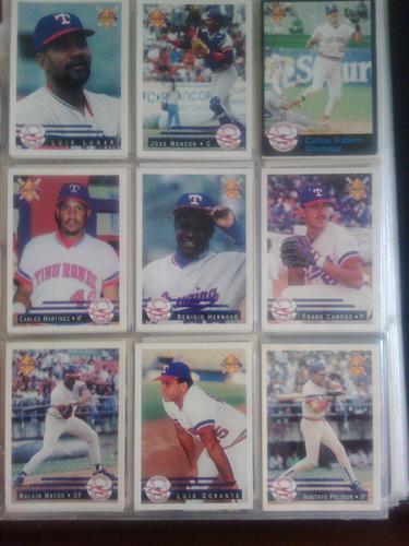 barajitas line up 93-94. coleccion completa