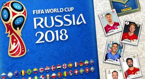 barajitas panini mundial 2018