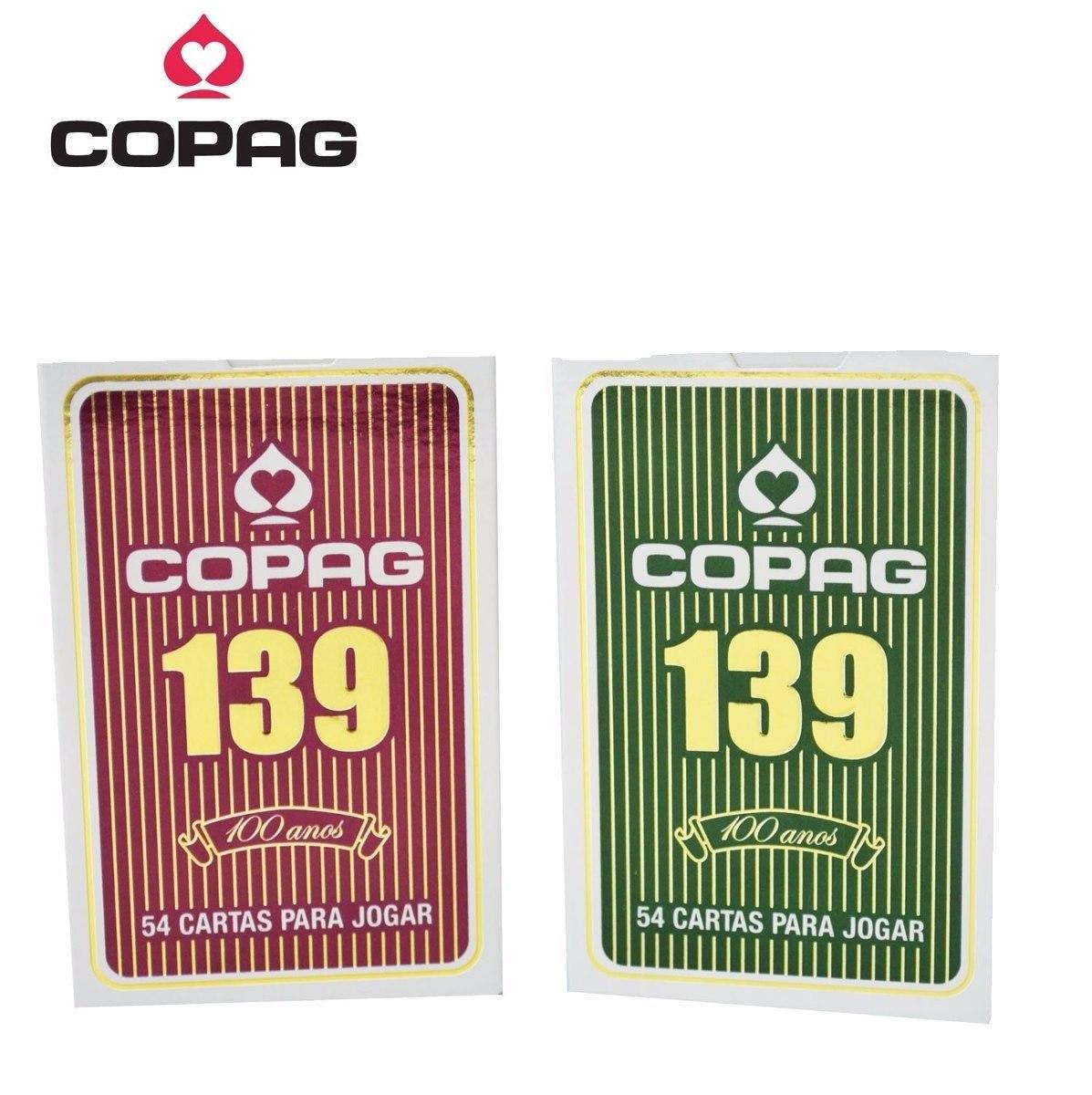 baralho 139 bridge cartucho duplo cores clássicas - copag. Carregando zoom. 3b3a63242780e