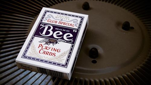 baralho bee club special azul - poker size