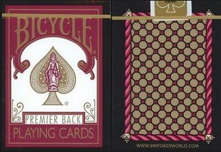baralho bicycle premier back - pôquer - edição esgotada
