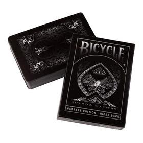 Baralho Bicycle Shadow Masters - Ellusionist Pôquer Mágica