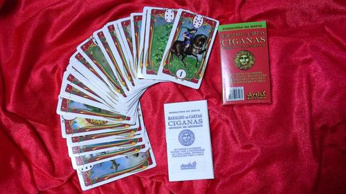 baralho cigano - com 36 cartas e manual