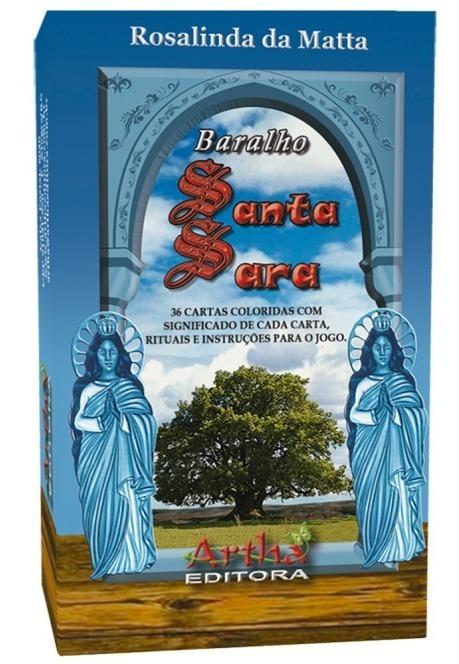 Baralho Cigano De Santa Sara Kali-ed,.artha Gratis Mini