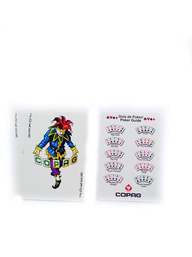 baralho copag poker texas hold' em carteado jogos
