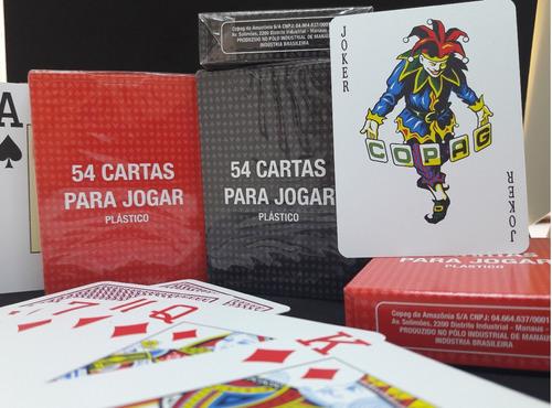 baralho copag poker texas hold'em 12 unidade