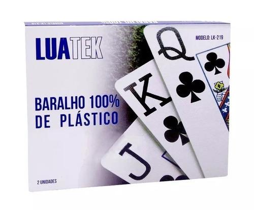 baralho de poker pife jogo de cartas em plastico