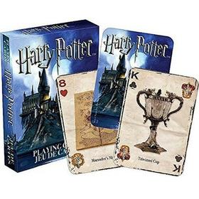 Baralho Harry Potter Modelo 01  Azul
