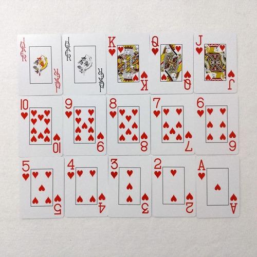 baralho poker club 100% plástico (1 unidade com 52 cartas)