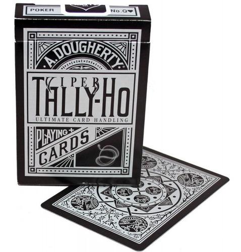 baralho tally-ho viper tally ho ellusionist pôquer mágica