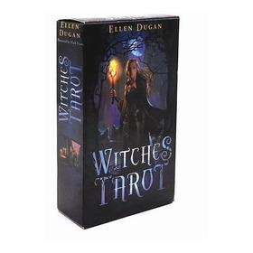 Baralho Witches Tarot - Tarot Das Bruxas - 78 Cartas Engles