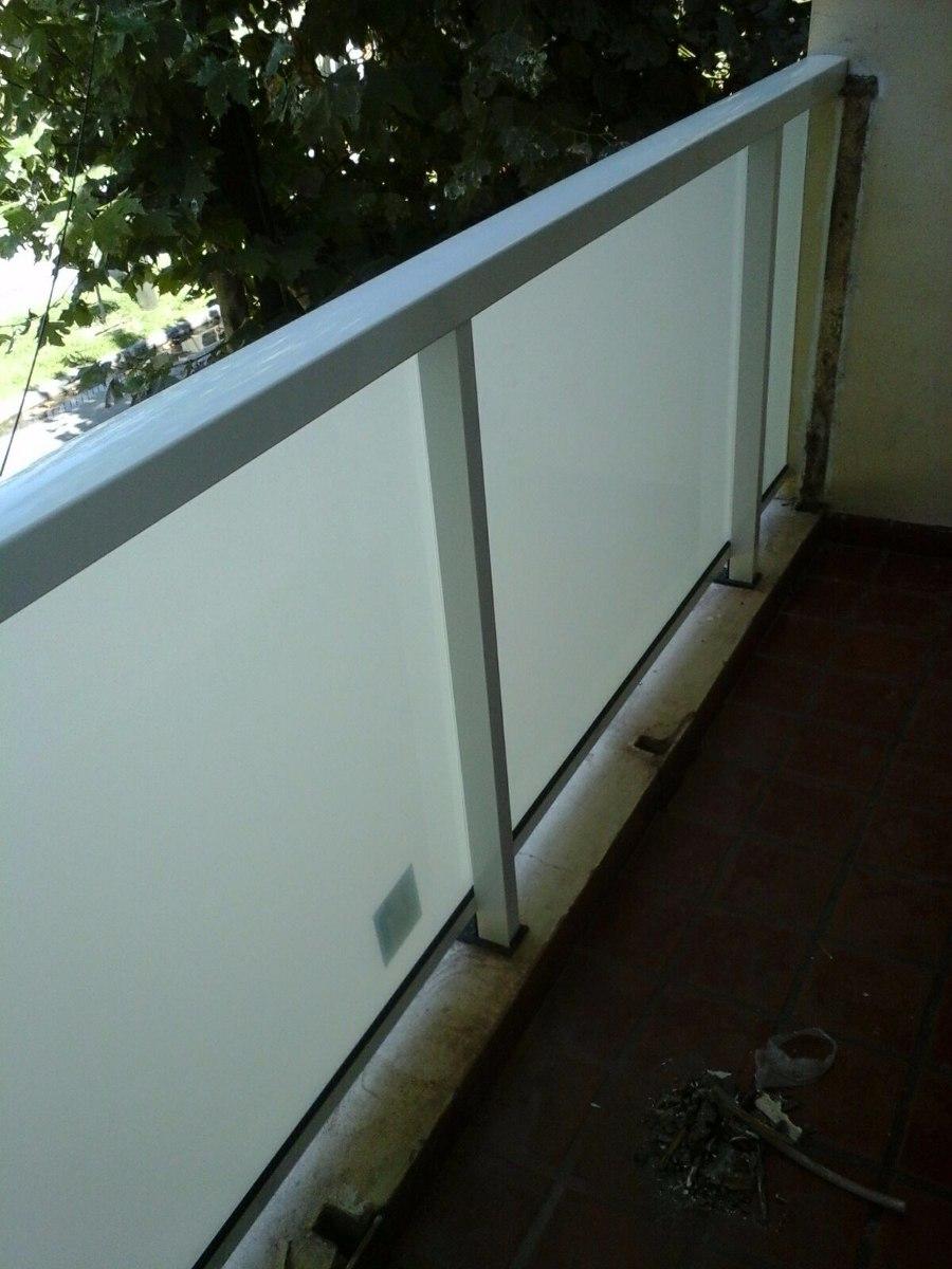 Barandas de aluminio baranda en aluminio y vidrio para - Barandas de aluminio ...