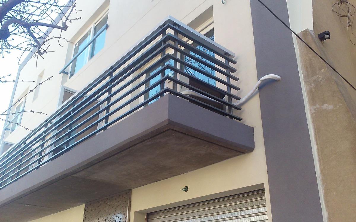 Baranda Balcon Hierro Y Aluminio 350000 En Mercado Libre - Balcones-aluminio