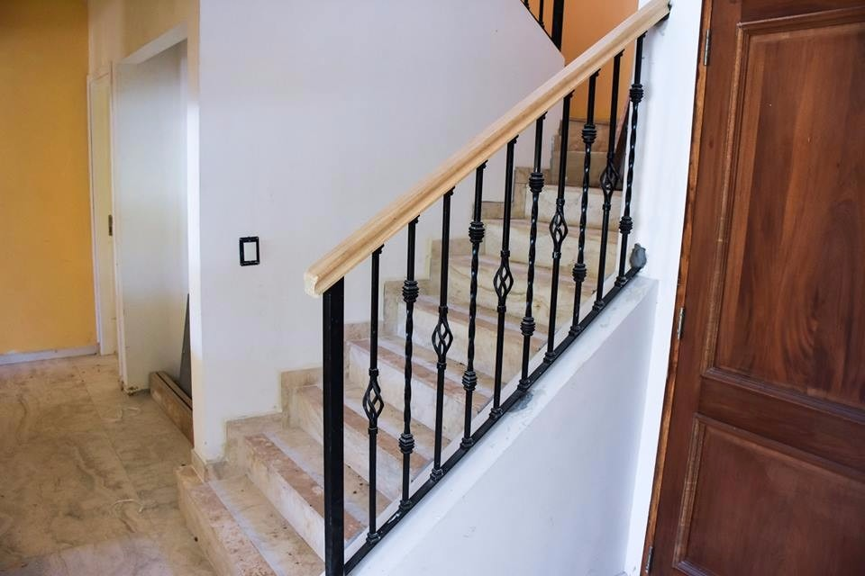 Barandas De Escaleras De Hierro Baranda Balcon Y Escalera