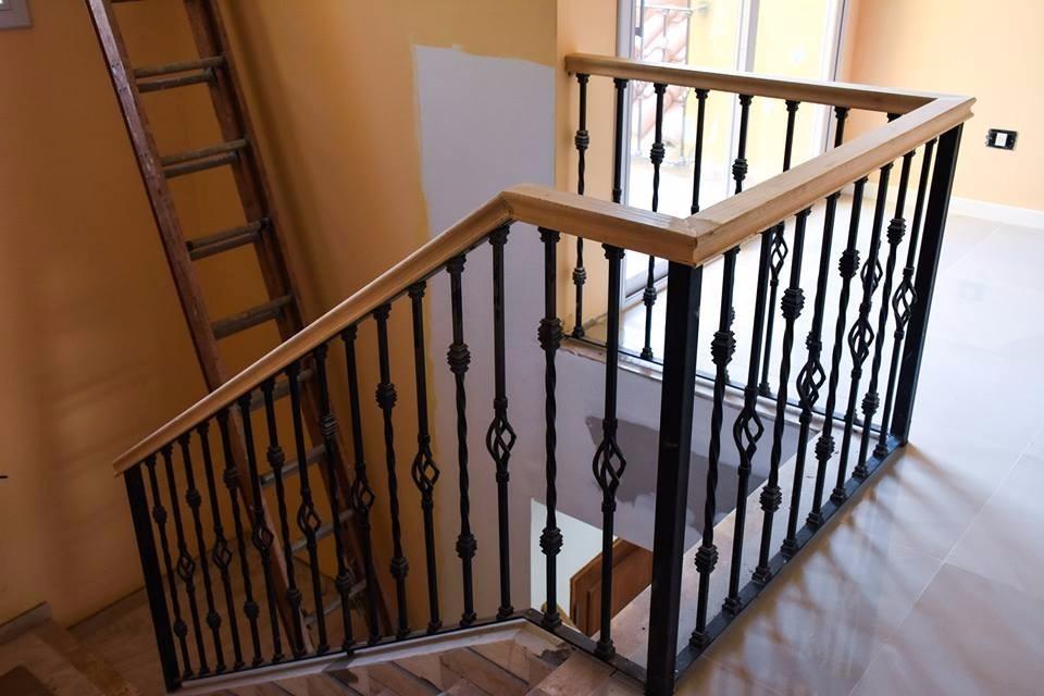 Escaleras de hierro forjado para interiores la moda - Escaleras de hierro forjado ...
