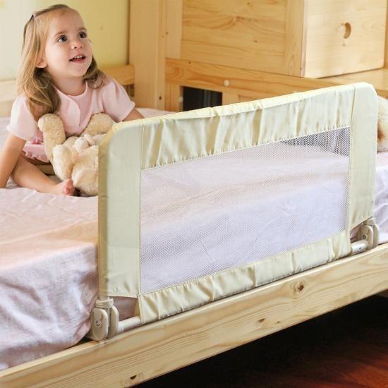 Baranda de seguridad de cama plegable holztek ni os unisex for Barandas de seguridad