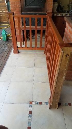 hueco escalera Baranda Hueco Escalera Lapacho Masiso 890000