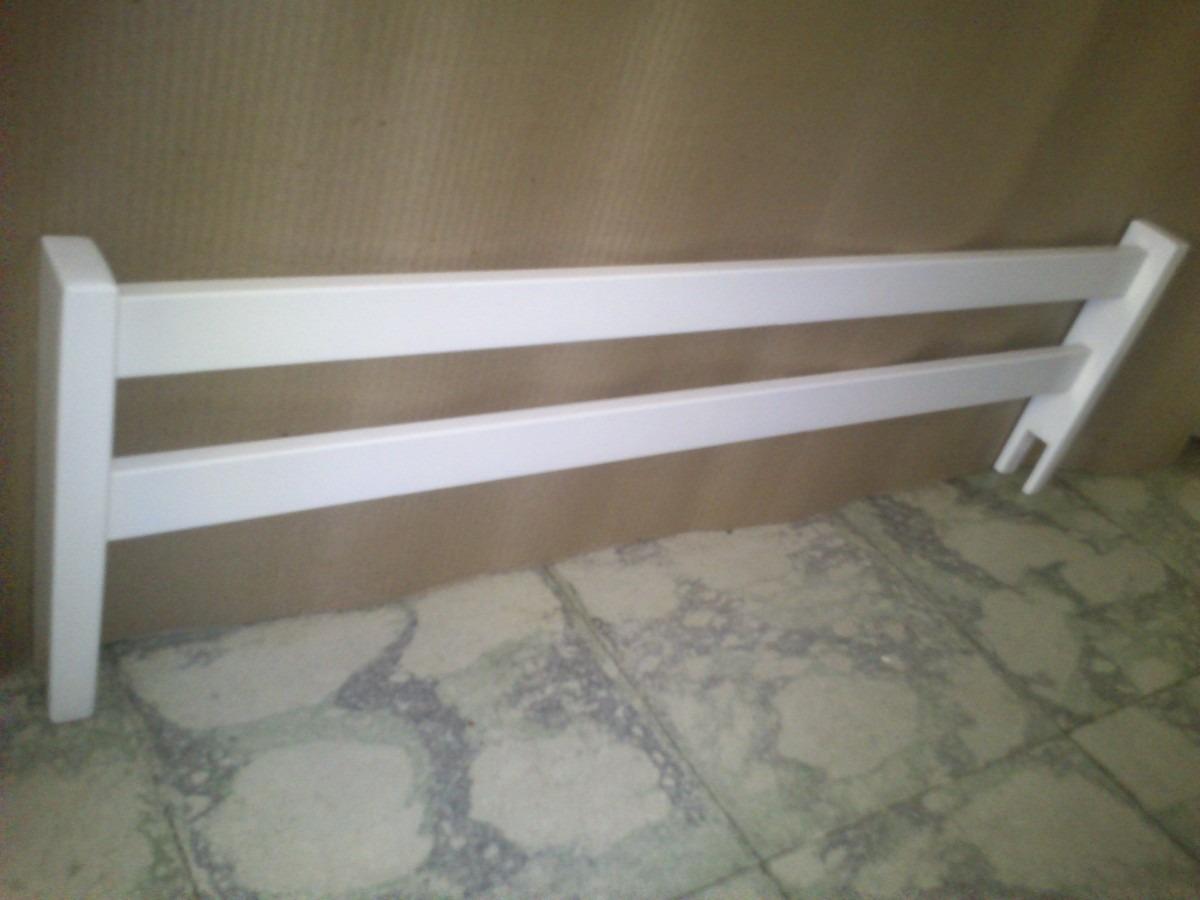 Camas para nios con barandas great baranda de cama - Baranda de madera ...
