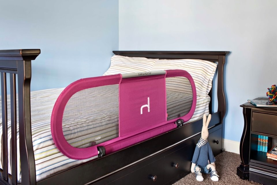 Baranda para cama side babyhome aluminio plegable ni os - Camas plegables para ninos ...