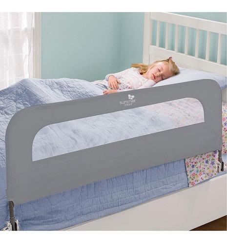 barandal proteccion rodamiento cama bebe extra largo acero s