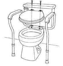barandales barra chasis para baño wc de lujo medical store