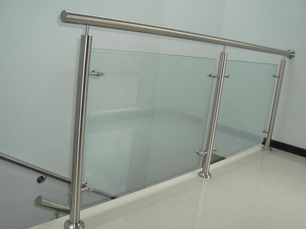 Barandas con vidrio templado u s 150 00 en mercado libre for Detalle barandilla vidrio