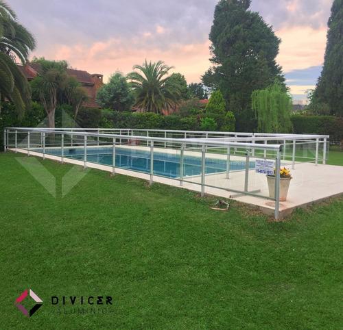 barandas de piscinas piletas cercos perimetrales en aluminio