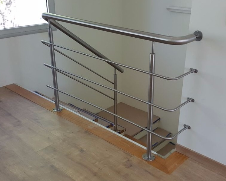 Barandas En Acero Inoxidable Para Escaleras 3 Canos 7 500 00