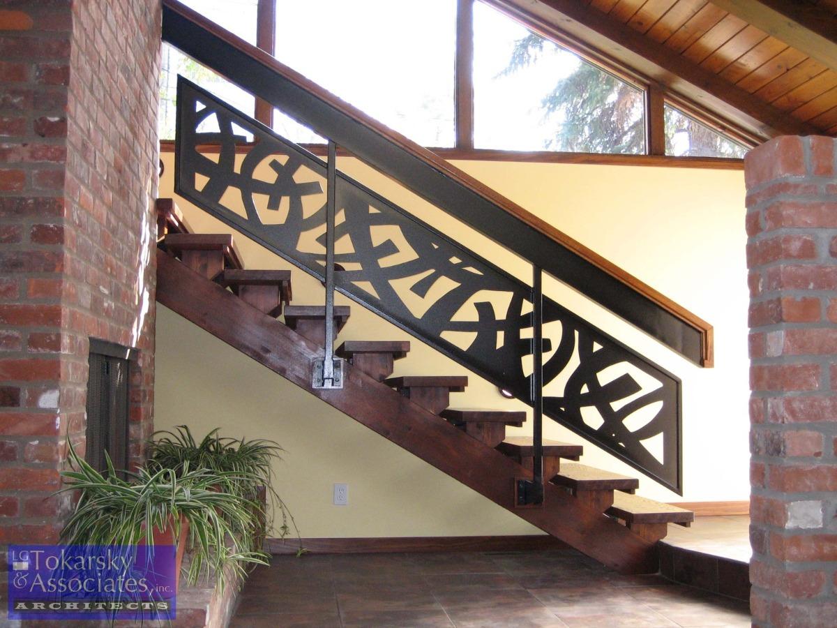 Barandas Escaleras Caladas Cnc 599 00 En Mercado Libre ~ Barandas De Escaleras Interiores
