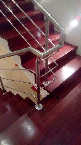 barandas estructuras escaleras acero inoxidable