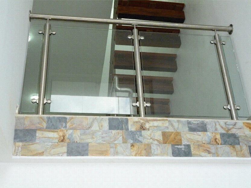 Barandas pasamanos campanas tanques en acero inoxidable - Pasamanos de acero inoxidable para escaleras ...