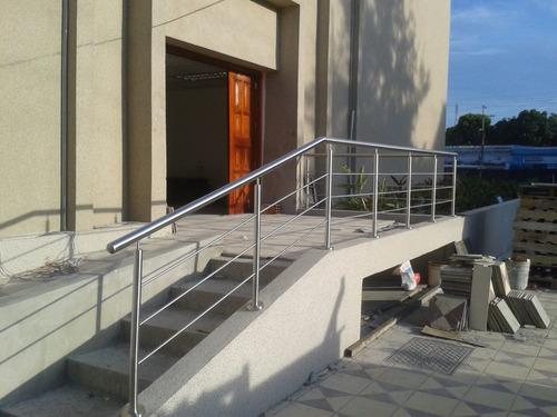 barandas pasamanos y escaleras de acero inoxidable