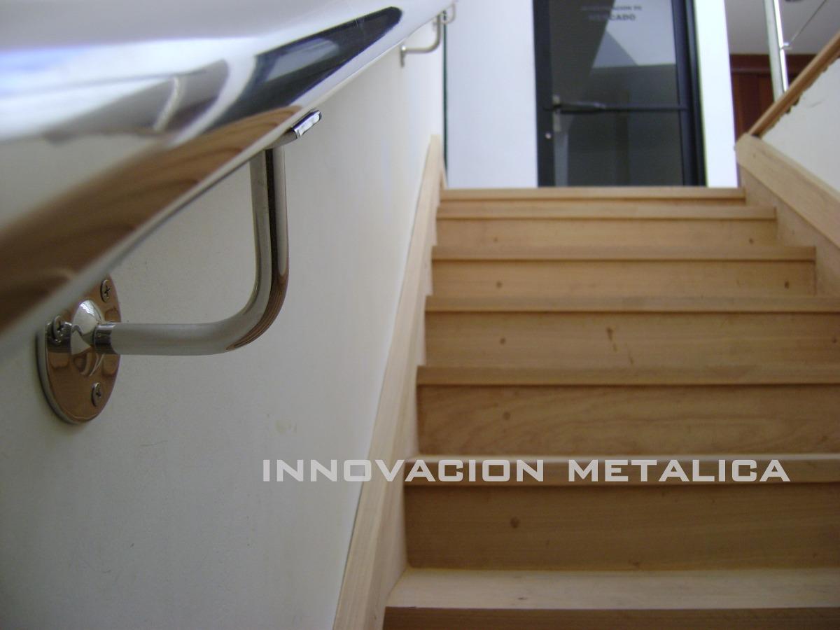Barandas pasamanos y escaleras en acero inoxidable en for Precio de escaleras extensibles