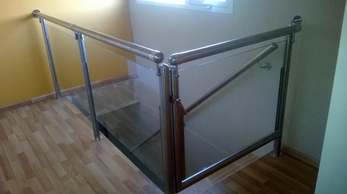 barandas vidrio y acero inoxidable escaleras y balcones