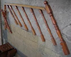 barandas y pasamano de madera