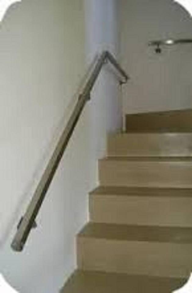 Pasamanos escalera interior modelo de escalera interior templado barandilla de vidrio pasamanos - Pasamanos de escalera ...