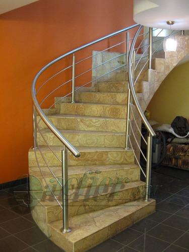 barandas y pasamanos para escaleras de acero inoxidable 304